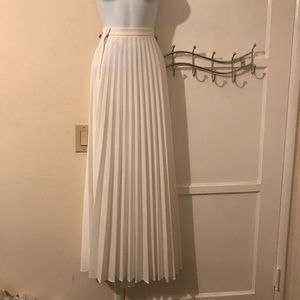 Vintage (Miss Shaheen) pleated skirt